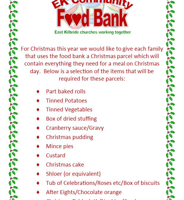 Food Bank Christmas Hampers